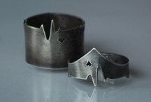 Rings  / One of the few pieces of jewelry I'm really into  / by Raquel
