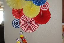 Kid party decorations / by Katie Johnson
