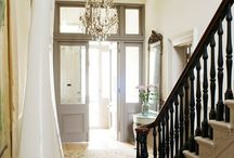 Entry hall stairs / by Rosamond