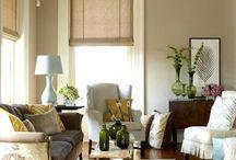 Living Room Ideas / by Sarah Evans Moretti
