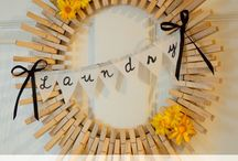 Stuff for decorating (laundry room) / by Lori Lambert Calhoun