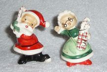 Vintage Christmas  figures / by Connie Mason