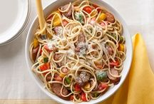 oodles of noodles / pasta and other noodle dishes / by Emily C