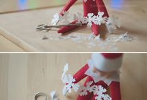 Elf on the shelf ideas / by Polka Dot Daze