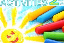 Preschooler Activities / Inspiration and ideas for preschool activities, crafts, art, science, sensory play, gross and fine motor skills practice, and pretend play. / by Tara Ziegmont
