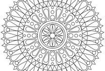 Pattern mandala  / by Els