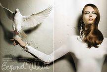 White Wardrobe / beautiful white fashion to radiate white light / by Fresh Gypsy