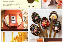 Holidays}Thanksgiving / Thanksgiving recipes, decor and craft ideas / by Leigh Anne, YourHomebasedMom