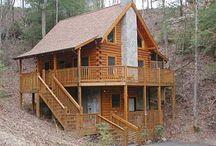 Log Cabins / by Carol Fraile