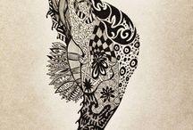 Zen tangle  / by Melanie Castle