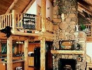 log cabin / by June-Marie Liddy
