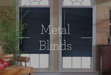 Metal Blinds / Metal Blinds / by Designer Window Fashions