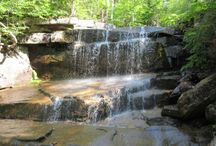 NH waterfall checklist / Outdoors; Hiking hotspots of New Hampshire / by Sarah Deveau