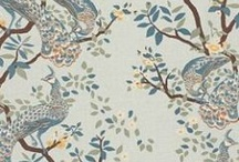 fabric and wallpaper and paint... / by Laura Tredway