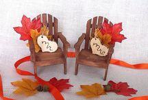 Elegant fall wedding / by Hand In