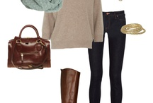 Cute Looks For Fall/Winter / by Katy Stanford