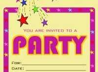 Party Invitations / by Free Printable