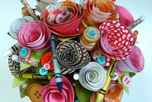 Paper Flowers / by Barbara's CreativeTouch