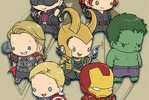 Avengers! / by Elsa L Gold