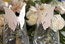 Place card/Escort Card Ideas for weddings / The Wedding Loft  Full Service Bridal Boutique and Wedding Planning  www.jacksonvilleweddingloft.com / by The Wedding Loft Bridal Boutique and Wedding Planning