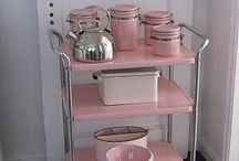 PINK FURNITURE AND HOME DECOR / by Lynn Bechtel