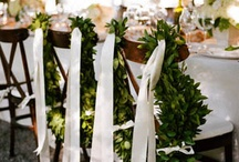 Grecian garden wedding / by Creative Flowers Inc | Petal and Bean