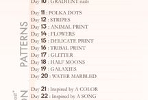31 Day Challenge 2012 / by Rie