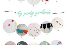 Party Time - Backdrops & Garlands / by Cobi Davies