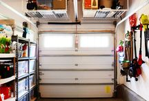 Garage organization / by Carla Williamson