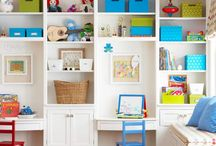 Built-ins for Bedroom / by Sue Staum