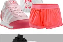 exercise clothes / by kayla hatfield