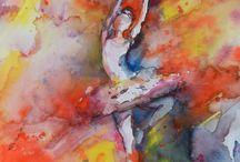 ART: Dancing / by Emily Burraston