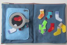 Walker's Fabric Activity Book / by Heather McLeod