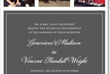 Wedding Invites / by Dianna West