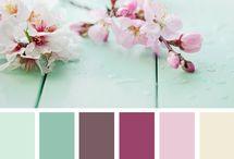 Color palettes / by Anke Lindenhols-Kroon