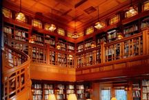New House-Study / Mike's library, barnes and nobe'ish,  / by Trisha Philbrook