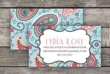 Business Cards / New Printable Business Cards from Citrus Paper! / by Citrus Paper