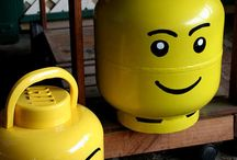Propane Tank Art / Who knew crusty old propane tanks could look so good? / by Rita Stebbing