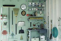 garage organization / by Lyndsay Stradtner