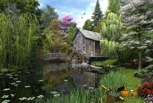 Windmills and Water Wheels / by Linda Love
