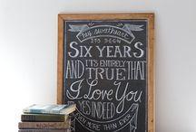 Chalkboard Love / by Marsha Wilson