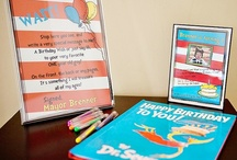 Dr Seuss and other unisex party themes / by Lindsey Doyle