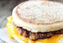 Breakfast, Sandwiches, Burritos, Tacos, Egg Rolls / by Diane Willis