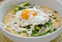 Put an Egg on It / Everything tastes better with an egg on top? / by Denise Tanton