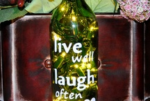 Wine Bottle and Lights / by Christmas Light Source