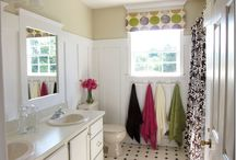 bathroom colors / by LADY JANE