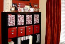 Craft Rooms and Organization Tips / by Kimmy Davis