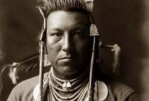 Native Americans / Another race / culture treated so poorly / by Kim Imhoff