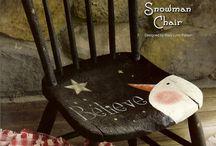 Painted Tables and Chairs / painted tables and chairs / by BohemianBeachJunque