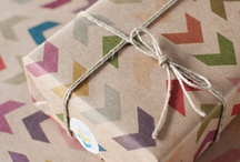 Great Wrapping Ideas / Gift wrapping ideas for parties, holidays and events / by Dannielle Cresp